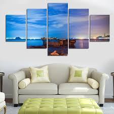 Livingroom Art by Online Get Cheap Ocean Canvas Art Aliexpress Com Alibaba Group