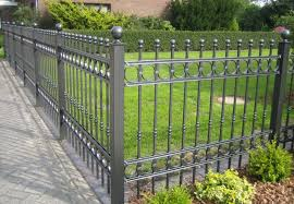 decorative metal garden fencing fence ideas decorative