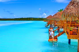 beach aitutaki cook island villa bungalow splendor sky romantic
