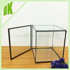 Clear Glass Vases With Lids Flower Vase Large Wedding Tall Clear Wedding Centerpiece Candy