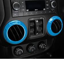 jeep interior accessories light blue interior accessories trims for jeep wrangler jk jku