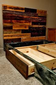 Reclaimed Wood Bed Frames 21 Best Headboards Images On Pinterest 3 4 Beds Wood Furniture