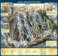 Colorado Ski Map by Copper Mountain Colorado Ski Country Usa