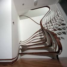 Home Interior Staircase Design by Curvy Stairs Stairs Designs Of Stairs Inside House Home Stairs