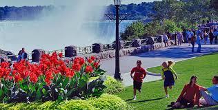 Niagara Falls Canada Map by Parc Du Reine Victoria Clifton Hill Niagara Falls Canada