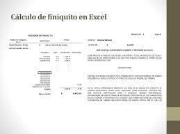 calculadora de finiquito en chile procedimiento para el calculo del isr ppt descargar