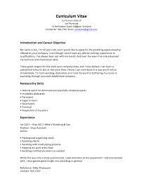 plumber apprentice cv sample tips and free download cv guidance