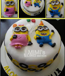 minions birthday cake minions birthday cakes top minion cakes cakecentral batter kenko