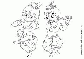 krishna coloring krishna coloring drawing
