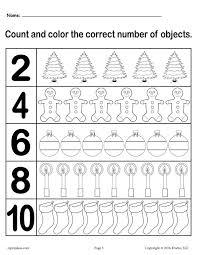 all worksheets number practice worksheets 1 10 printable