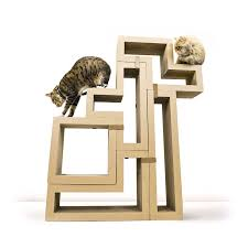 wall mounted cat stairs amazon com katris modular cat tree 5 blocks with different