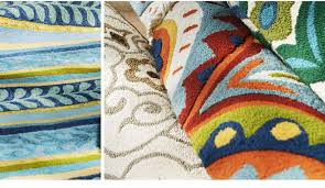 pier 1 discover patio rugs that can do double duty milled