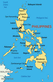Phillipines Map Philippines Luxury Yacht Charters