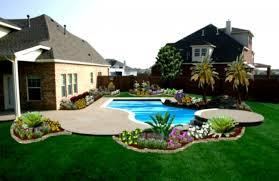 backyard pools backyard landscape design