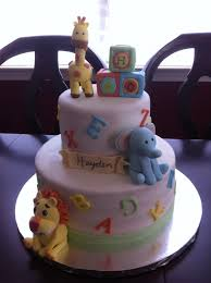 baby shower cakes zoo animals u2013 diabetesmang info