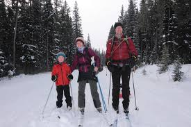family adventures in the canadian rockies winter at the cameron