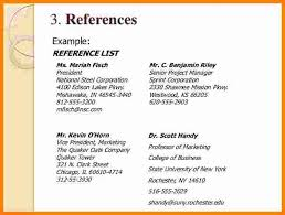 Resume References Examples by Resume Reference Template Resume References Format 10 Format