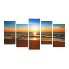 online get cheap sunrise ocean painting aliexpress com alibaba