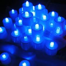blue tea light candles battery operated lights fairy lights battery operated fairy lights
