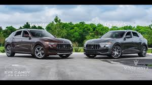 maserati luxury overview 2017 maserati levante luxury package youtube