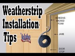 Weather Stripping Exterior Door Remove Install Door Weatherstrips House Weather Stripping Hacks