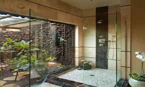 bathroom wallpaper hi def cool tropical bathroom shower ideas