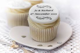 personalised cupcakes wedding cupcake decorations by just bake notonthehighstreet