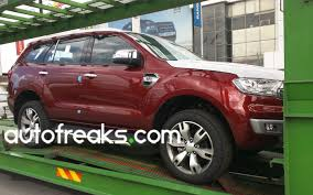 2016 Ford Everest Spied 2016 Ford Everest Spotted Launching Soon Lowyat Net Cars