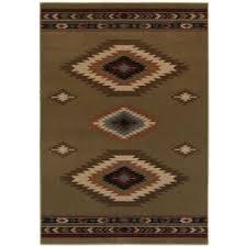 Aztec Design Rugs Home Decorators Collection Aztec Red 4 Ft X 6 Ft Area Rug 454488