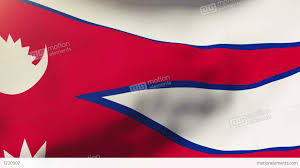 Pics Of Nepal Flag Nepal Flag Waving In The Wind Looping Sun Rises Style Animation