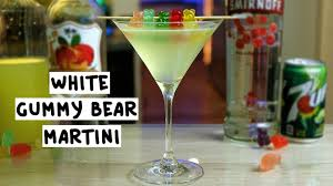 martini white white gummy bear martini youtube