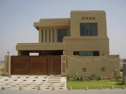 home front view design pictures in pakistan house jangla design luxury house front view stock royalty free