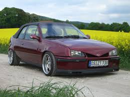 opel kadett view of opel kadett e cabriolet photos video features and