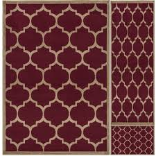 ottomanson paterson collection contemporary moroccan trellis