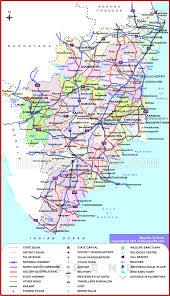 tamil nadu political map political map tamil nadu