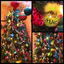 whoville whoville tree complete with grinch ornie s what s