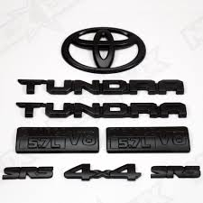 logo de toyota 2014 2017 tundra sr5 black out kit toyota tundra toyota and black