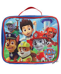 nickelodeon paw patrol insulated lunch box lunch bag