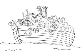 noah ark coloring page cecilymae