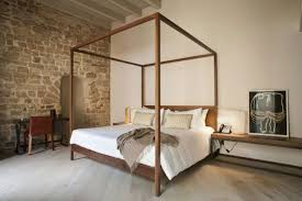 hotels stone wall bedroom home ledge decorating tips decorating