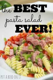 Pasta Salad Recipes With Italian Dressing Put A Bird On It The Best Italian Pasta Salad Ever