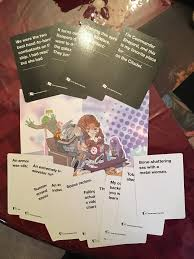 cards against humanity expansion pack got my mass effect expansion pack for cards against humanity today