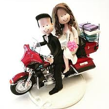 motorcycle wedding cake topper cake topper studio motorcycle best custom wedding cake topper