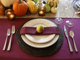 Dining Room Table Setting Dishes Thanksgiving Table Settings How To Cooking Channel