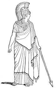 ancient rome goddess war coloring netart