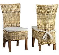 preston rattan chair with cushion