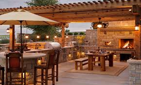 pantry table outdoor pizza oven fireplace combination outdoor