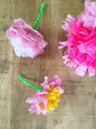 tissue paper flowers babyccino kids daily tips children u0027s
