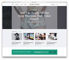 Embed Google Maps On Your Blog Or Site Blodger by 20 Best Fashion Blog U0026 Magazine Wordpress Themes 2018 Colorlib