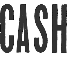 dafont lord of the rings what font is used for the word cash on the poster for ring of fire
